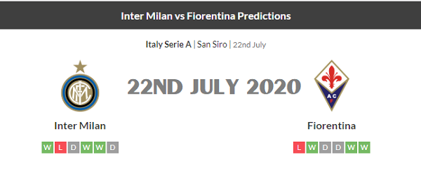 Inter Milan vs Fiorentina Prediction