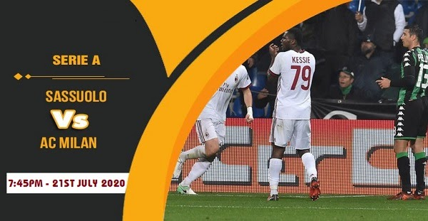 Sassuolo vs AC Milan Prediction