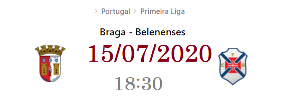 Sporting Braga vs Belenenses Prediction