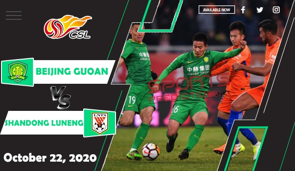 Beijing Guoan vs Shandong Luneng Prediction