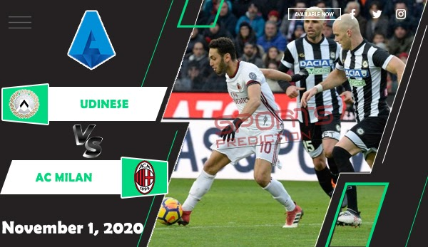 Udinese vs AC Milan Prediction