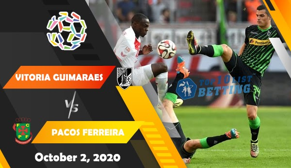 Vitoria Guimaraes vs Pacos Ferreira Prediction