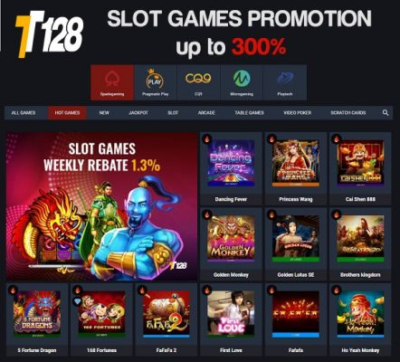 TT128 Slot Games Promotion
