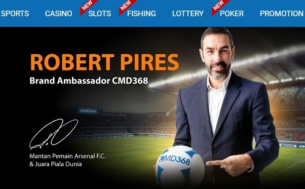 Robert Pires New Brand Ambassador Of Cmd368