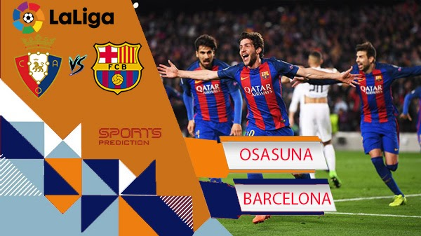 Osasuna vs Barcelona Prediction
